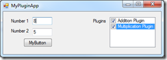 MyPluginApp Enabled Plugins