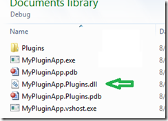Debug Folder Contents