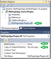 Solution Explorer View